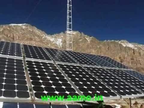 Off-Grid Solar-Wind Hybrid Electricity Supply To India's Lossar Valley in Himachal Pradesh