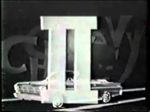 1962 Chevrolet See The USA Commercial
