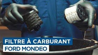 Changer le Filtre à Carburant - Ford Mondeo
