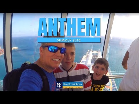 Royal Caribbean Anthem of The Seas Summer Vacation 2016
