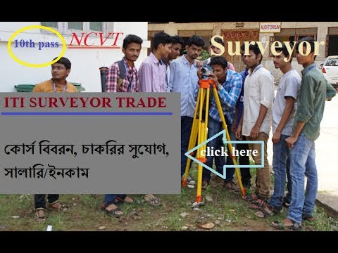 ITI Surveyor trade. career (job), salary [full descriptions]