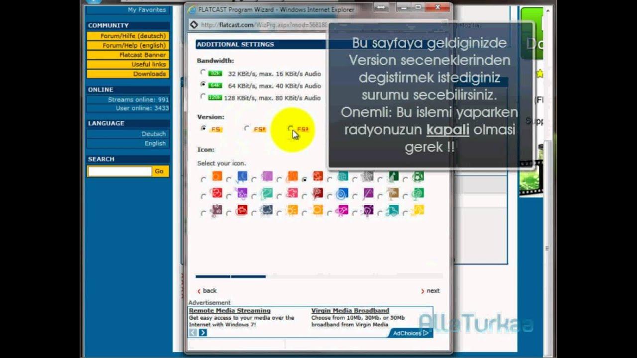 Flatcast F5.3'e Gecis Dersi... - YouTube