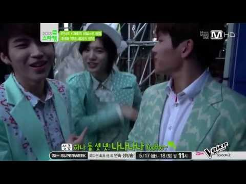 [HD] 130515 INFINITE Secret Star Cam @ Mnet Wide Entertainmwnt News