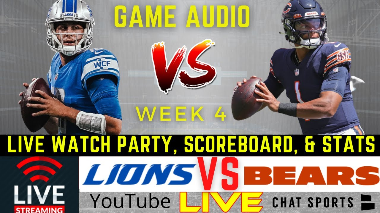 Lions vs. Bears live stream: How to watch Sunday's NFL game on ...