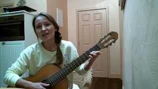 Полынь трава на гитаре. Самые простые аккорды. Am Dm E A7 C G