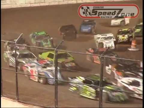 Oshkosh Speedzone Raceway - June 6, 2013 - Sport Modified Feature