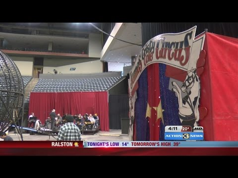 Behind the scenes with the Tangier Shrine Circus
