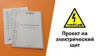 Проект на электрический щит (96 модулей) для 3-комнатной квартиры площадью 105 кв.м | ток02.рф