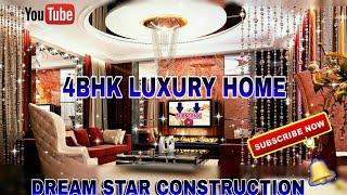 Dream Star Construction || 4 BHK LUXURY FLATS || Luxury Lifestyle
