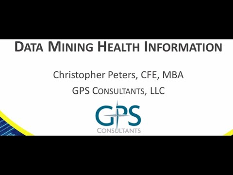 Data Mining Health Information
