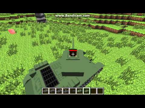 Minecraft 1.5.2 Flan's Mod with Manus Vehicle Pack Part 1 ...