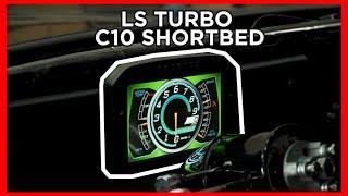 homepage tile video photo for LS TURBO C10 SHORTBED GETS CD-7 DIGITAL DASH!