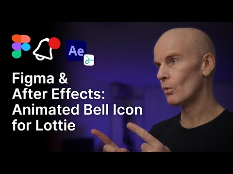 Figma and After Effects: Animated Bell Icon for Lottie