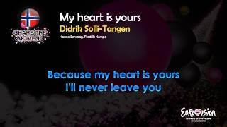 "Didrik Solli-Tangen - ""My Heart Is Yours"" (Norway) - [Karaoke version]"