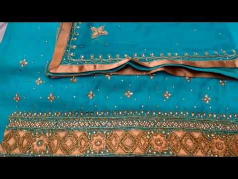 Latest punjabi suit 2016 salwar suit boutique work
