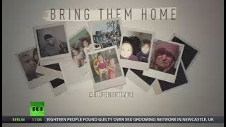 Bring Them Home  RT campaigns to reunite children who are stranded in Iraq with their families