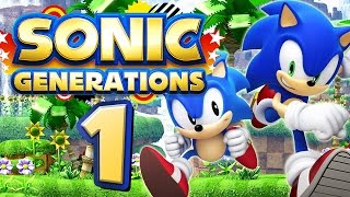 SONIC GENERATIONS # 01 ★ Green Hill - Classic & Modern [HD | 60fps] Let