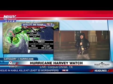 FNN Livestream 8/25/17: Hurricane Harvey WATCH - Category 4 Hurricane Approaching Texas