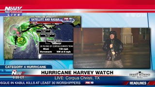 FNN Livestream 8/25/17: Hurricane Harvey WATCH - Category 4 Hurricane Approaching Texas thumbnail