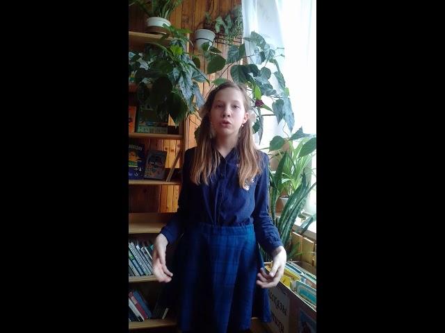 Изображение предпросмотра прочтения – АлинаСизова читает произведение «Ещё земли печален вид…» Ф.И.Тютчева
