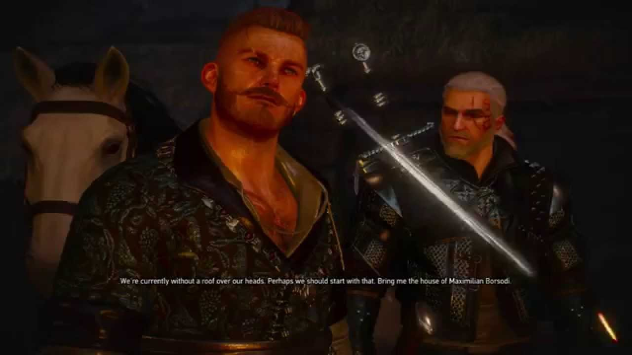 witcher 3 how to get into the lighthouse