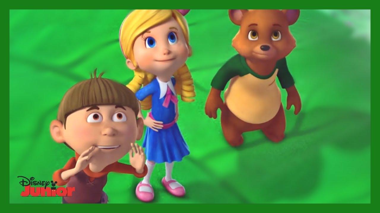 Goldie Y Osito Nuevo Rompecabezas Goldie Osito Jack Disney Junior
