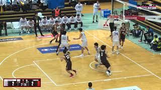 全日本大学バスケ2018インカレ男子1回戦、関西学院大学vs大東文化大学