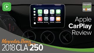 Apple CarPlay in the 2018 Mercedes Benz CLA250