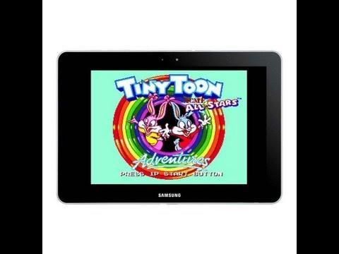 Обзор эмулятор игр SEGA на Андроид (Tiny Toon Adventures)