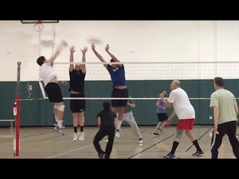 Open Gym Volleyball Highlights (part 1/2) - 4/21/16