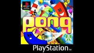 Pong: The Next Level - Playstation 1 (PSX) (PS1 Gameplay)