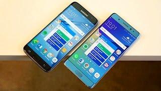 Samsung Galaxy Note 7 vs Galaxy S7 edge: Similar Yet Different