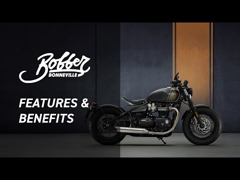 New Bonneville Bobber Features and Benefits