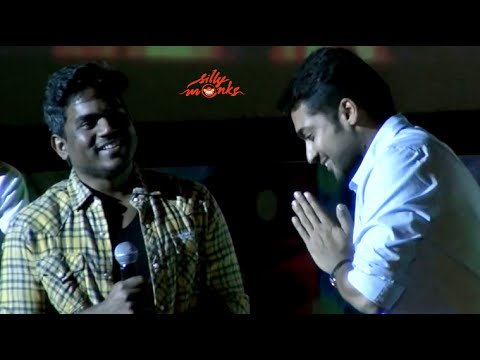 "Yuvan Shankar Raja ""experience with surya while singing"" @ Anjaan Audio Launch"