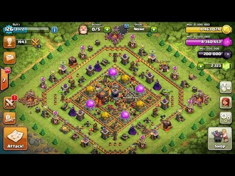 proof clash of clans th11 max account free with full. Black Bedroom Furniture Sets. Home Design Ideas
