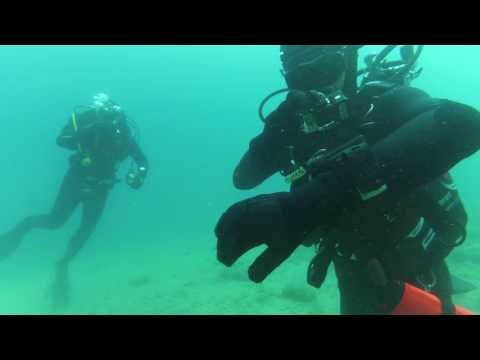 DIVING AT ČIOVO 28 METERS DEPTH