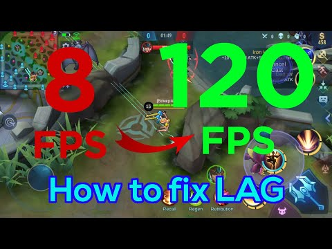 How To Fix FPS Drops | Lag Fixed | Mobile Legends 2020