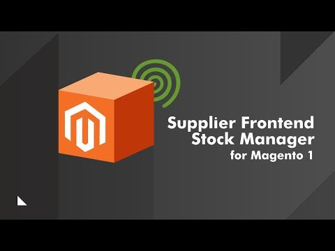 Supplier Stock Management Extension for Magento®