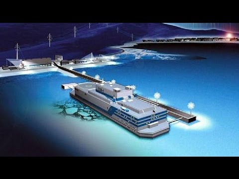 Russia developing world's first floating nuclear power plant