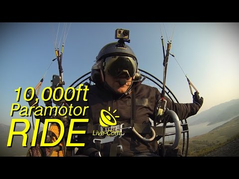 10,000ft Paramotor Ride, Powered Paragliding, Cold Weather Flying Tips
