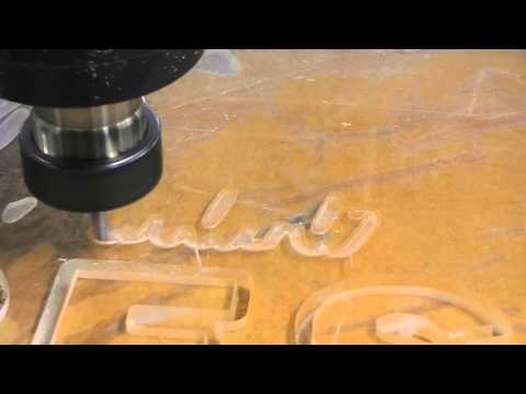 acrylic/plastic letter cnc engraving cutting router machine