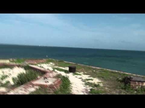 Dry Tortugas National Park - Fort Jefferson with Refurbished Rodman Gun