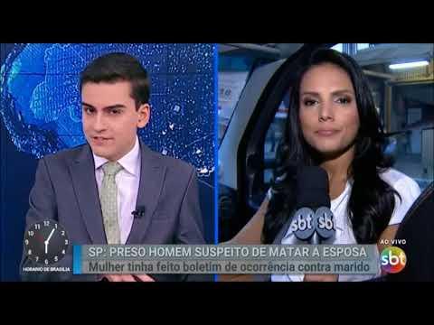 Encerramento SBT Notícias e inicio Primeiro Impacto com Dudu Camargo (07/03/18)