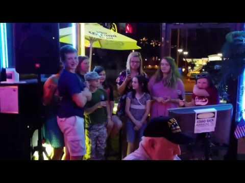Family fun... karaoke