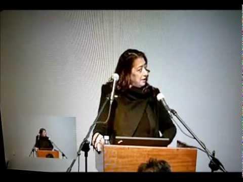 Zaha Hadid at Architectural Association in 2012