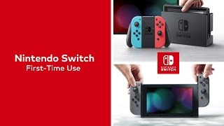 Nintendo Switch – First Time Use