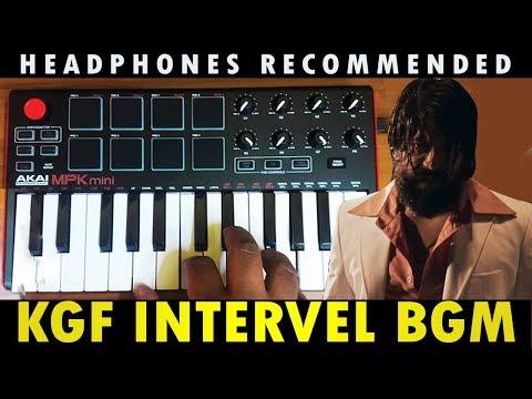 KGF Mass Interval Scene Bgm   Cover By Raj Bharath   #Yash   #RaviBasrur #RingTone