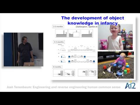 Josh Tenenbaum: Engineering & reverse-engineering human common sense