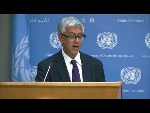 UNRWA and other matters - Daily Briefing (12 June 2017)