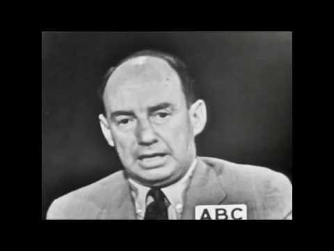 Adlai Stevenson and Estes Kefauver - First Televised Debate, 1956